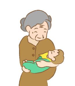 おばあさんと孫