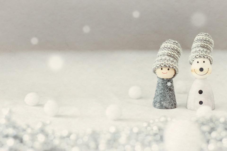 ほのぼの寒中見舞い