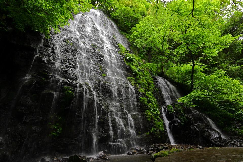福井県 龍双ケ滝